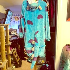 Monsters Inc. Sully onesie pajama kigurumi costume